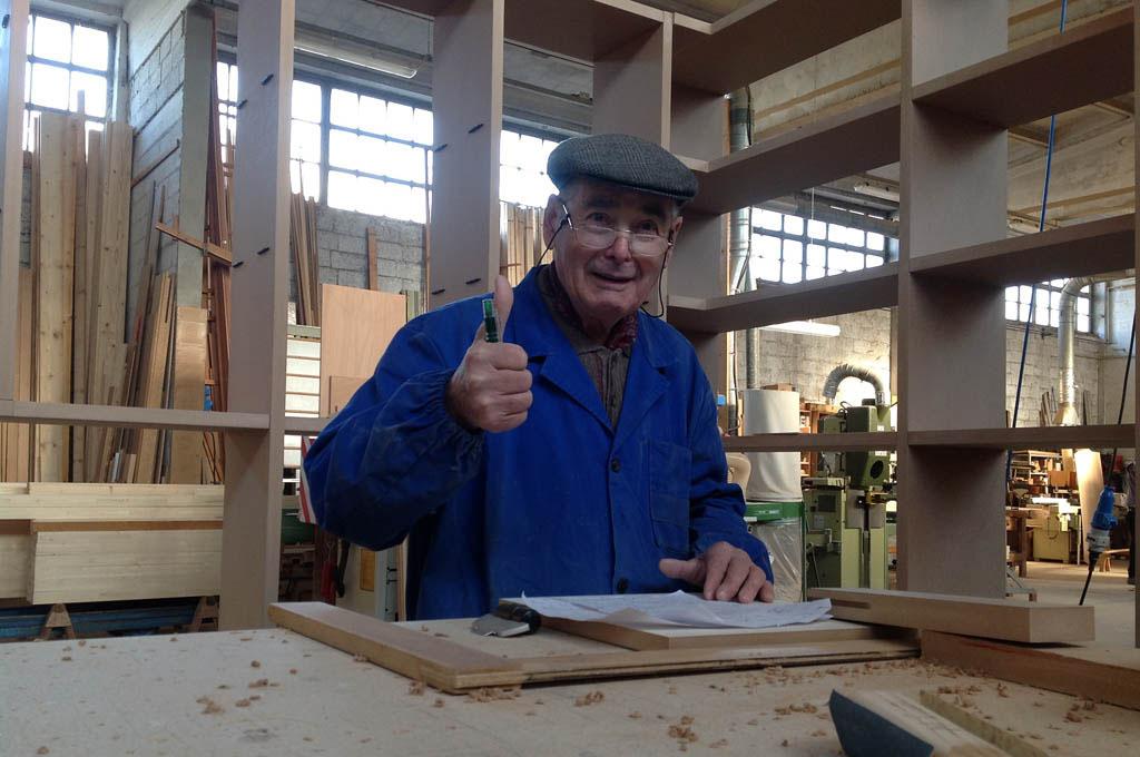 Lavorazione del legno a rubano padova falegnameria vidale for Subito arredamento padova